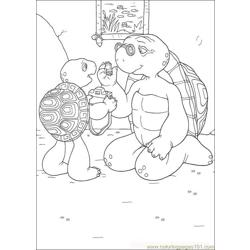 Franklin07 coloring page