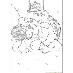 Franklin 07 coloring page