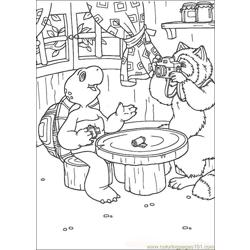 Franklin09 coloring page