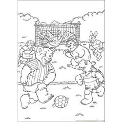Franklin 11 coloring page