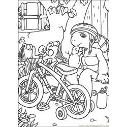Franklin 13 coloring page