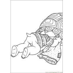 Franklin 14 coloring page