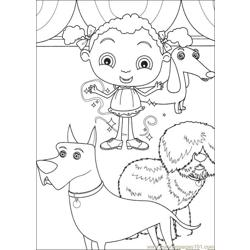 Franny 20 coloring page