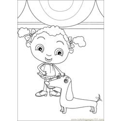 Franny 21 coloring page