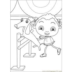Franny 22 coloring page