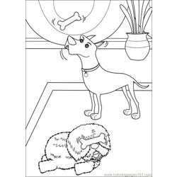 Franny 23 coloring page
