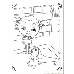 Franny 24 coloring page