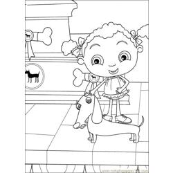 Franny 25 coloring page