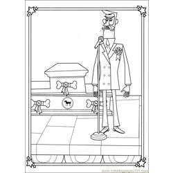 Franny 26 Free Coloring Page for Kids