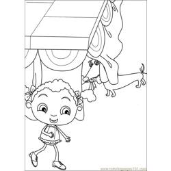 Franny 27 Free Coloring Page for Kids