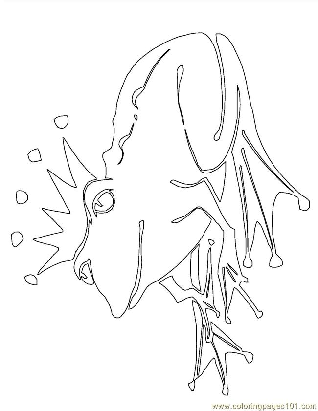 free frog prince coloring pages   Frog Prince Coloring Page - Free Frog Coloring Pages ...