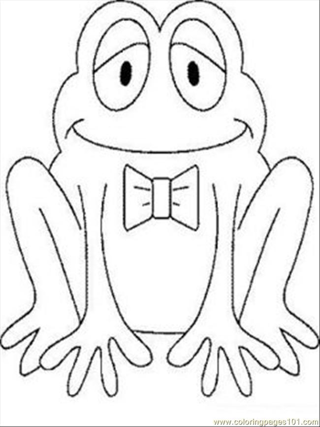 Frog2 Coloring Page