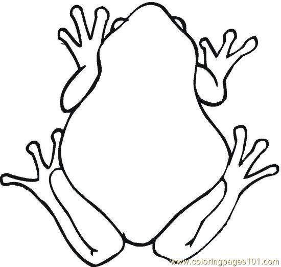 Frog (9) Coloring Page