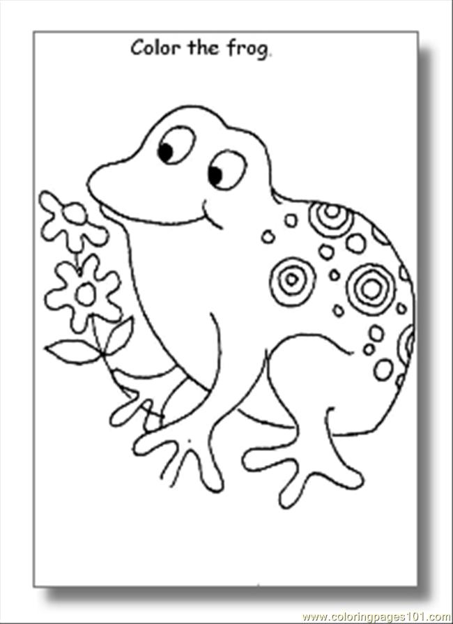frog coloring pages04 coloring page