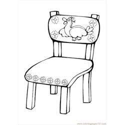 Ures Pages Photo Chair P Free Coloring Page for Kids