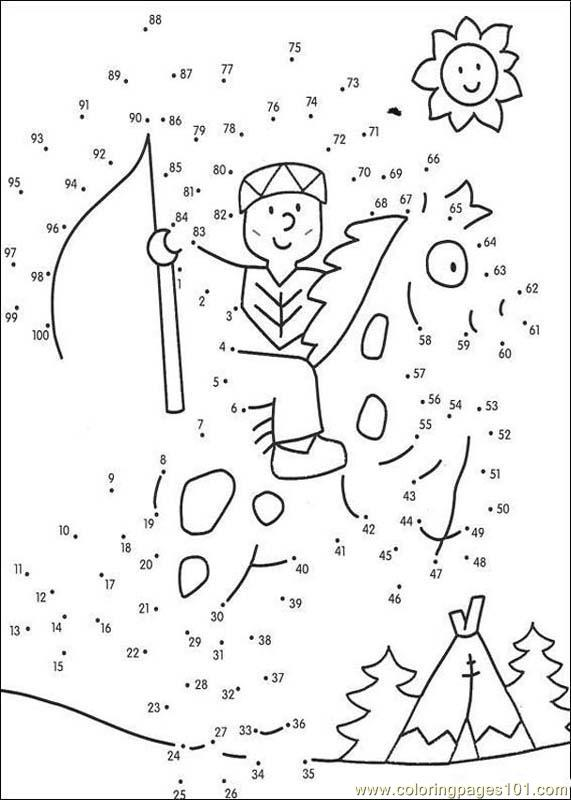 connect the dots source 1a6 coloring page