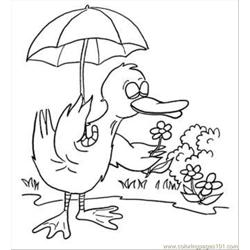 K In The Garden Coloring Page