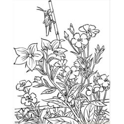 Opper In Garden Coloring Page