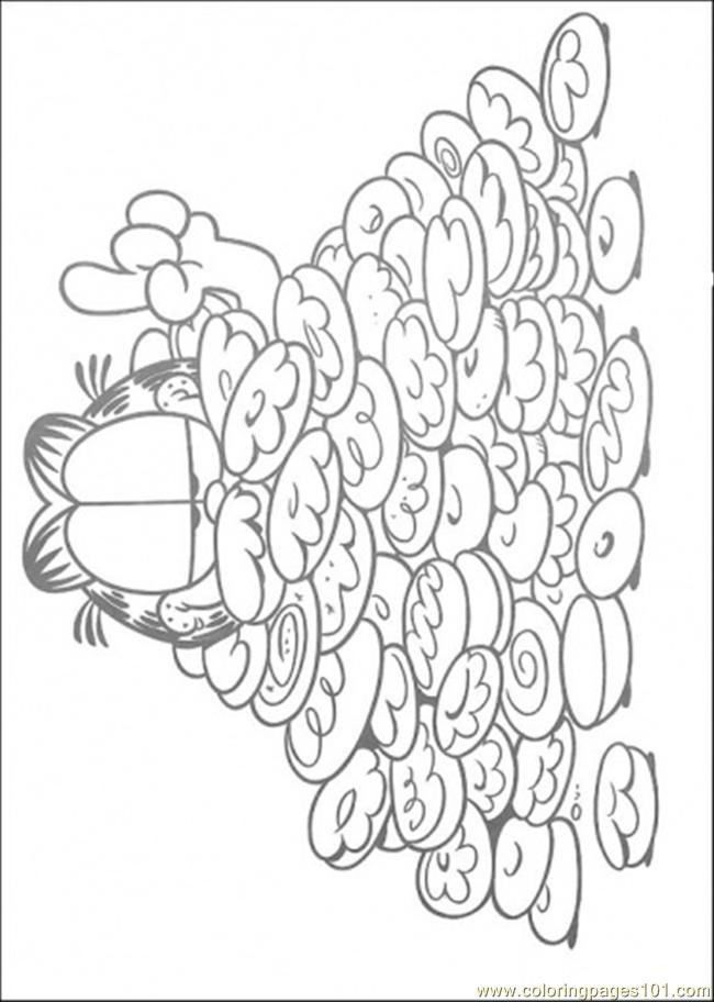 So Much Cookies Coloring Page