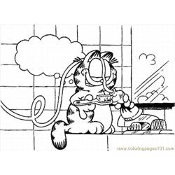 Garfield4 1 Lrg coloring page