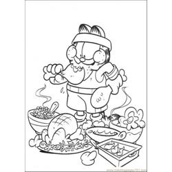 Soldier Of Food Free Coloring Page for Kids