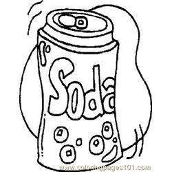 Sodacan coloring page