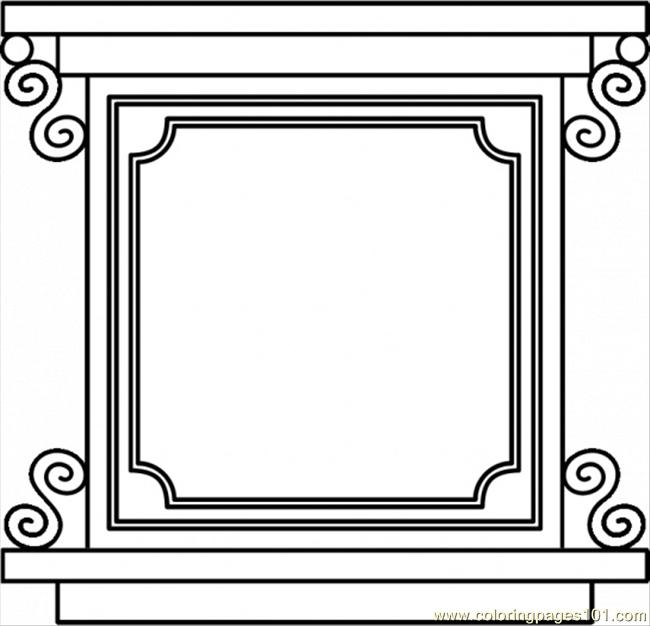 Square 11 Coloring Page