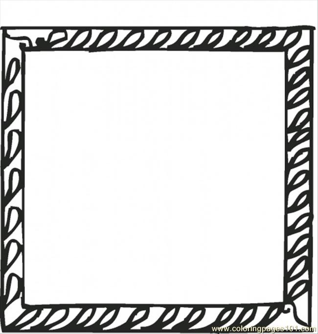 Square 13 Coloring Page