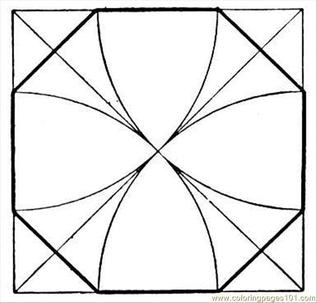 Square 14 Coloring Page