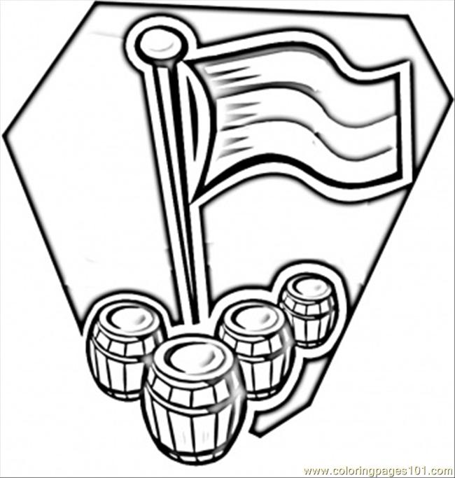 Download Germany Flag Coloring Page