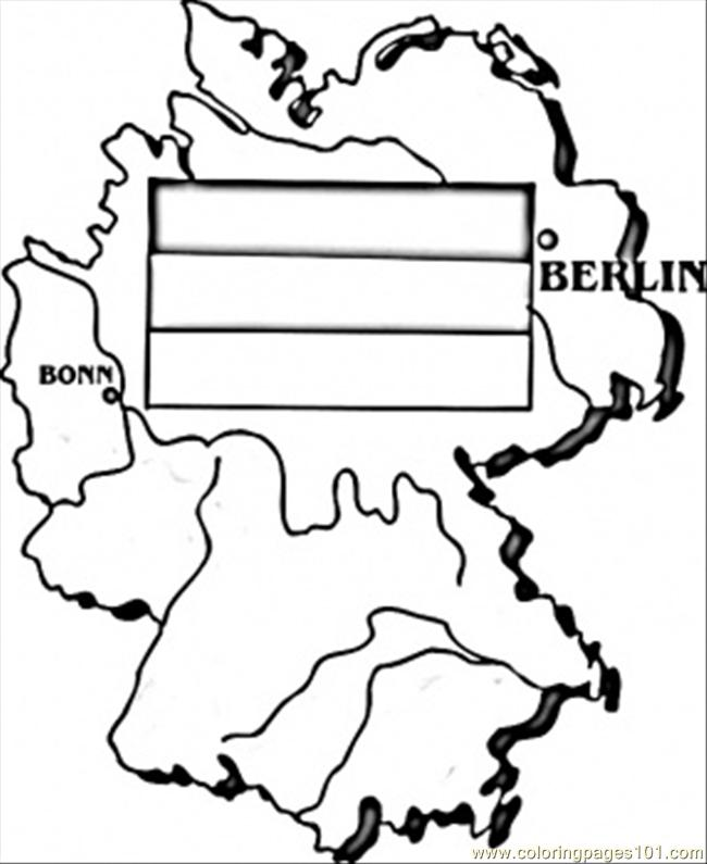 Map Of Germany Coloring Page Free Germany Coloring Pages - Germany map drawing