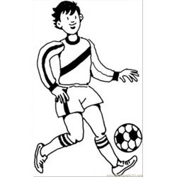 young german player coloring apge coloring page