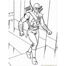 Gi Joe Lrg coloring page