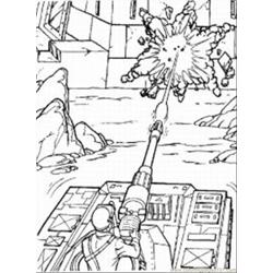 I Joe Med coloring page