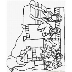Story Coloring Pages 11 Lrg coloring page