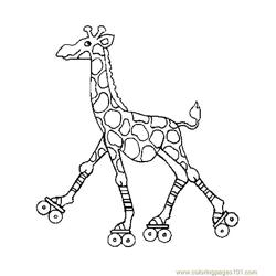 related post for kickboxing giraffe coloring pages