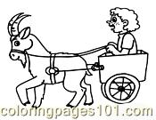Goat Coloring Page 09 Coloring Page