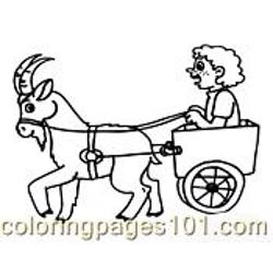 Goat Coloring Page 09