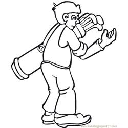 golf 1 coloring pages 7 com