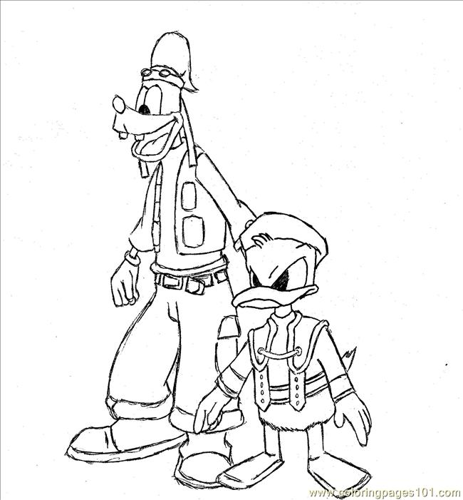 Donaldgoffy Rasen Coloring Page