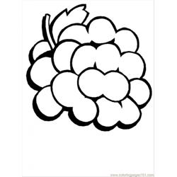 Normal Grapes coloring page