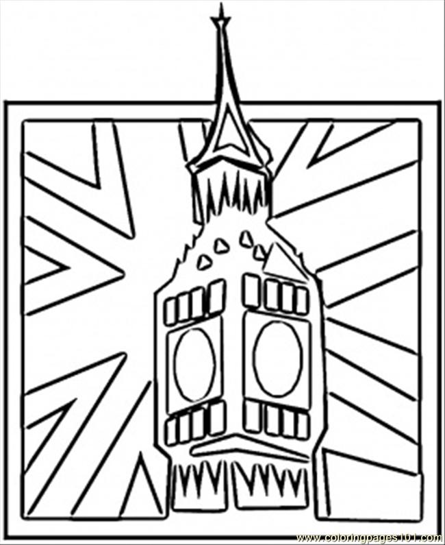 britain coloring pages - photo#12