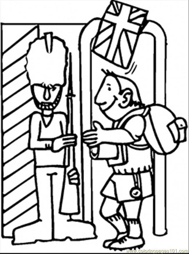 britain coloring pages - photo#25