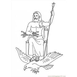Zeus Coloring Page Source 3gs