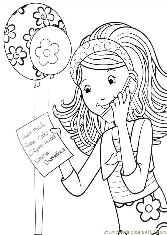 Groovy Girls 09 Coloring Page
