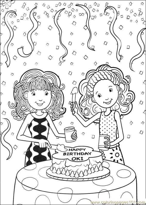 Groovy girls printable coloring pages for Groovy coloring pages
