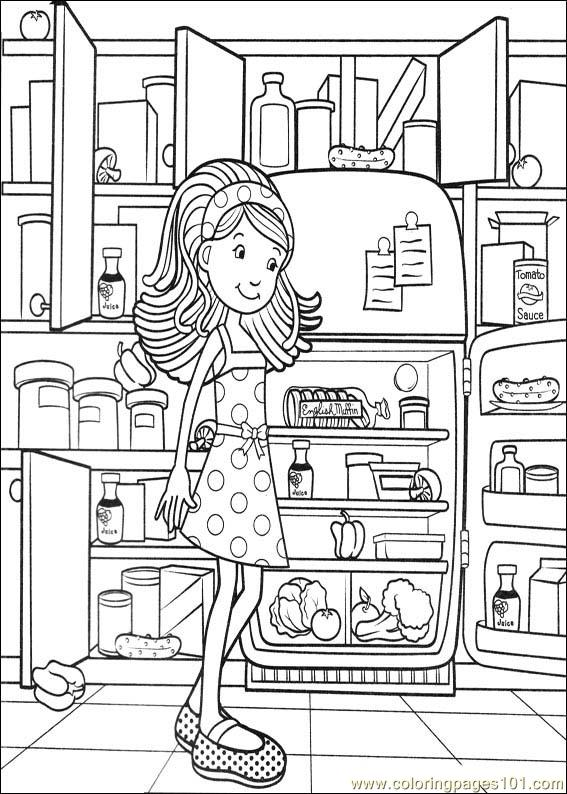Groovy Girls 25 Coloring Page