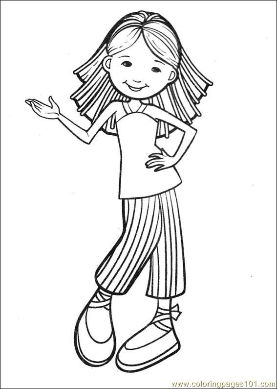 Groovy Girls 35 Coloring Page