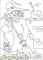 Halloween 75 Coloring Page
