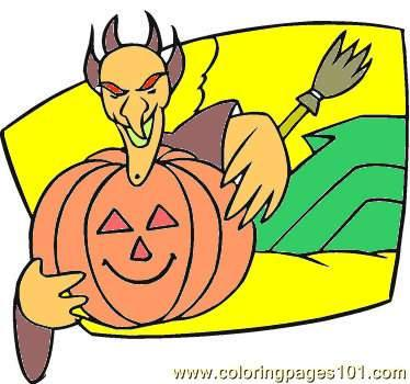 Hellowen58 Coloring Page